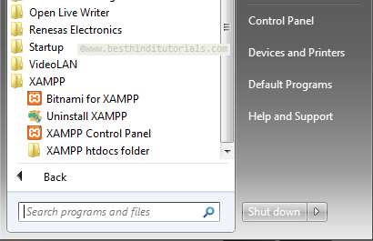XAMPP-Installation