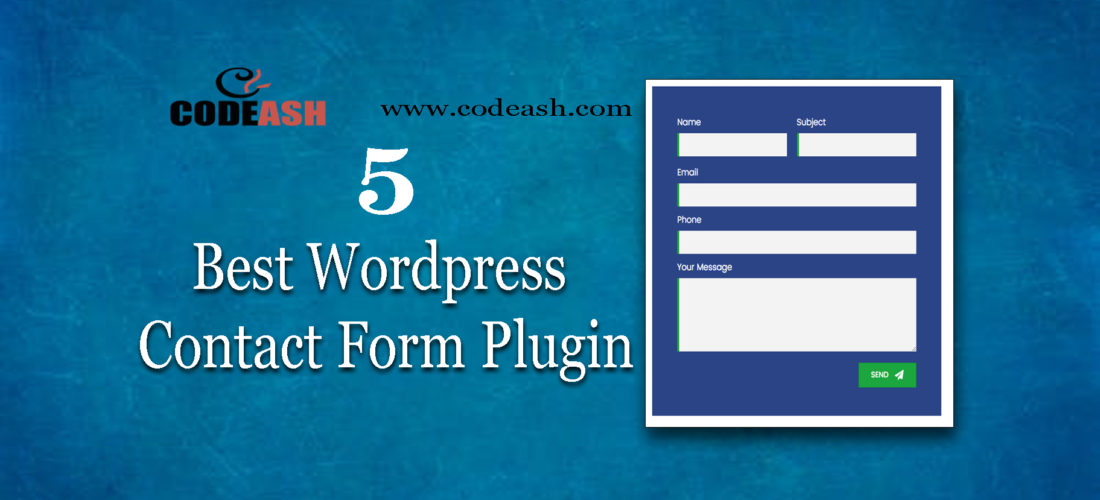 5 Best WordPress Contact Form Plugin