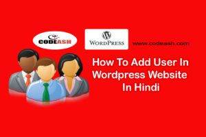 How To Add User In WordPress