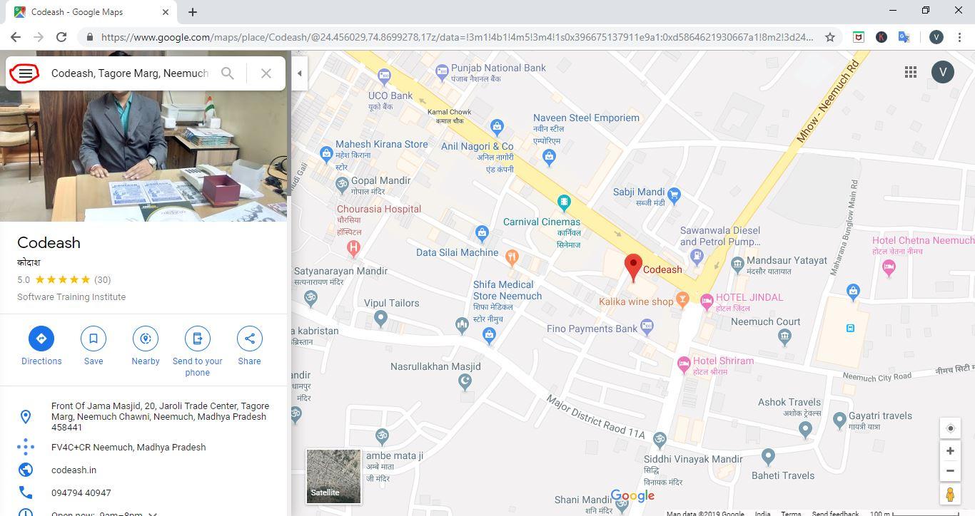google map in wordpress