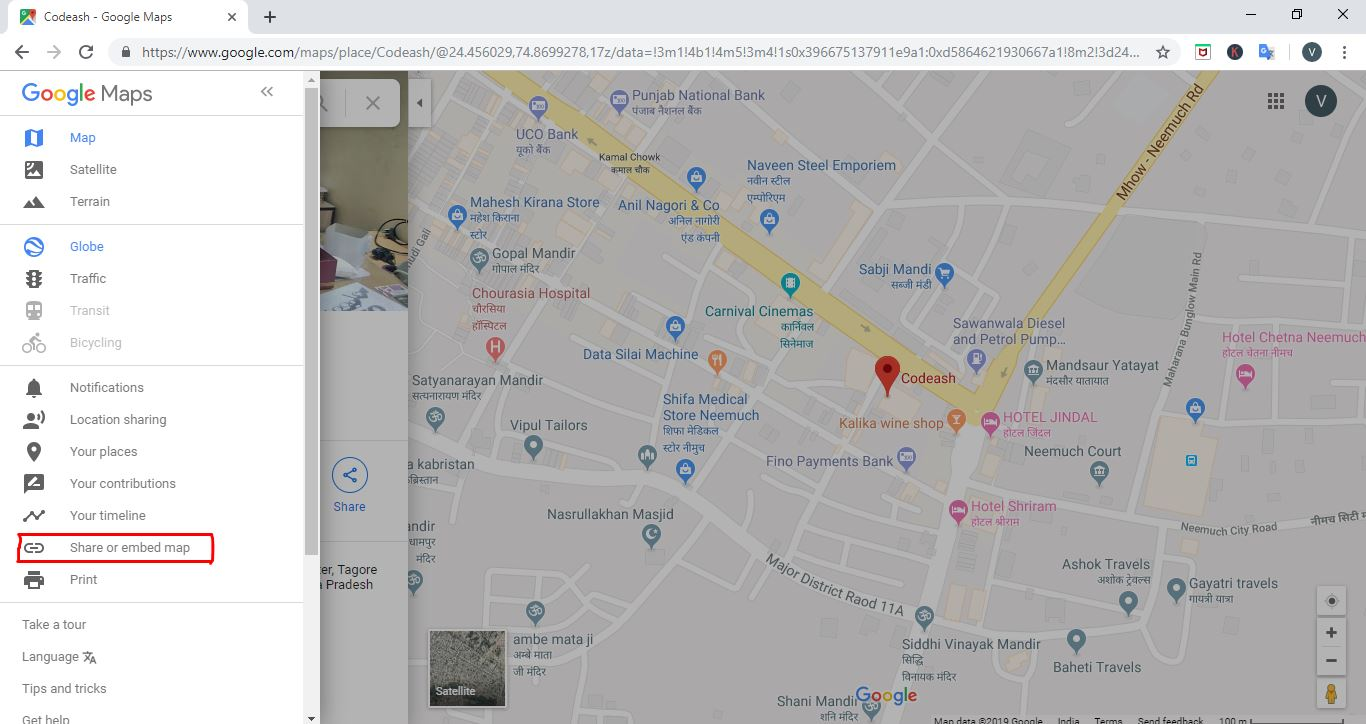 add google map adress in wordpress site