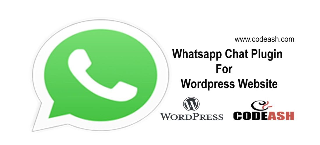 Whatsapp Chat Plugin For WordPress Website