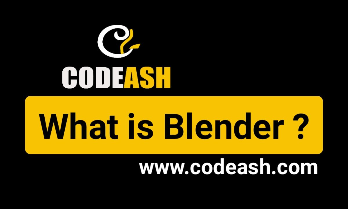 What is Blender?