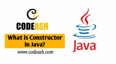 What is Constructor in Java?