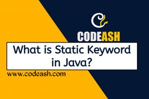 What is Static Keyword in Java