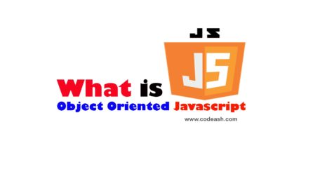 What is Object Oriented JavaScript