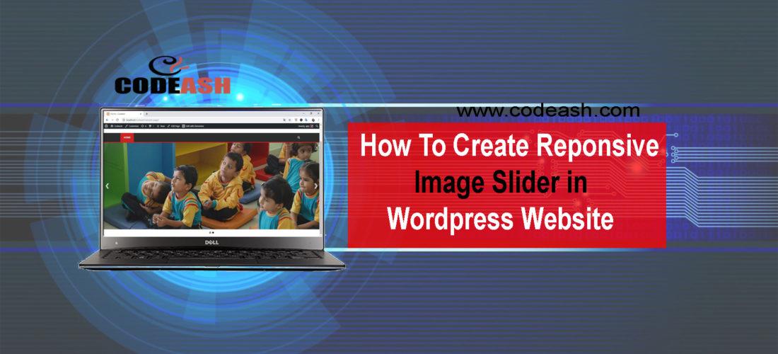 How To Create Responsive Image Slider In WordPress