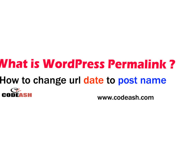 What is wordpress parmalink