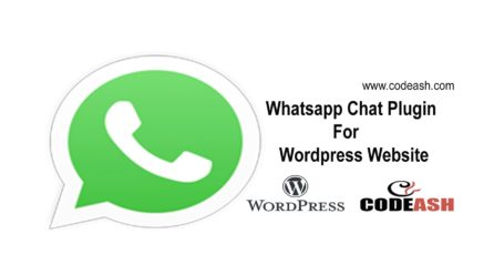 Whatsapp Chat Plugin For WordPress Website