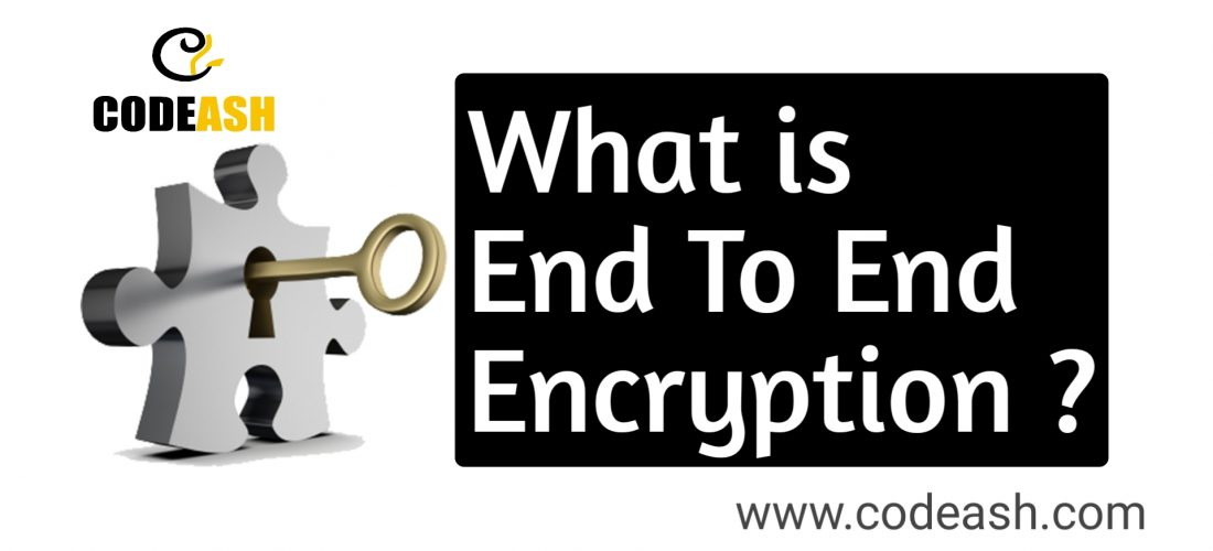What is End To End Encryption ?