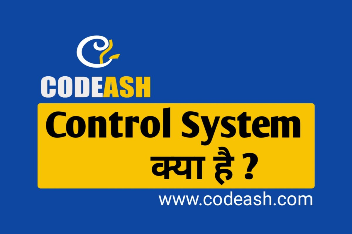 What is Control System