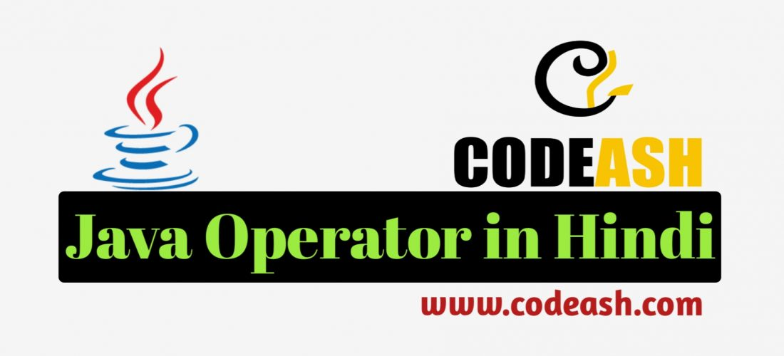 Java Operators in Hindi With Example