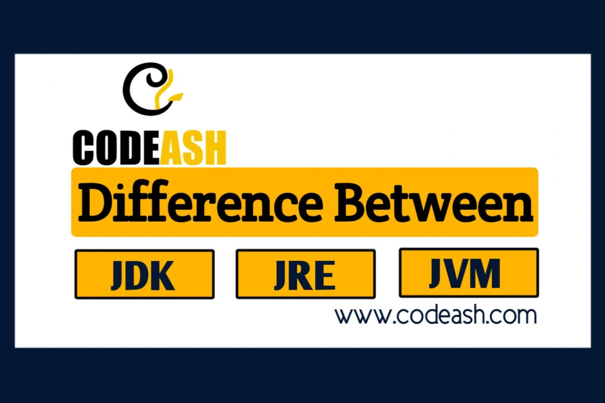 Differences between JDK, JRE and JVM